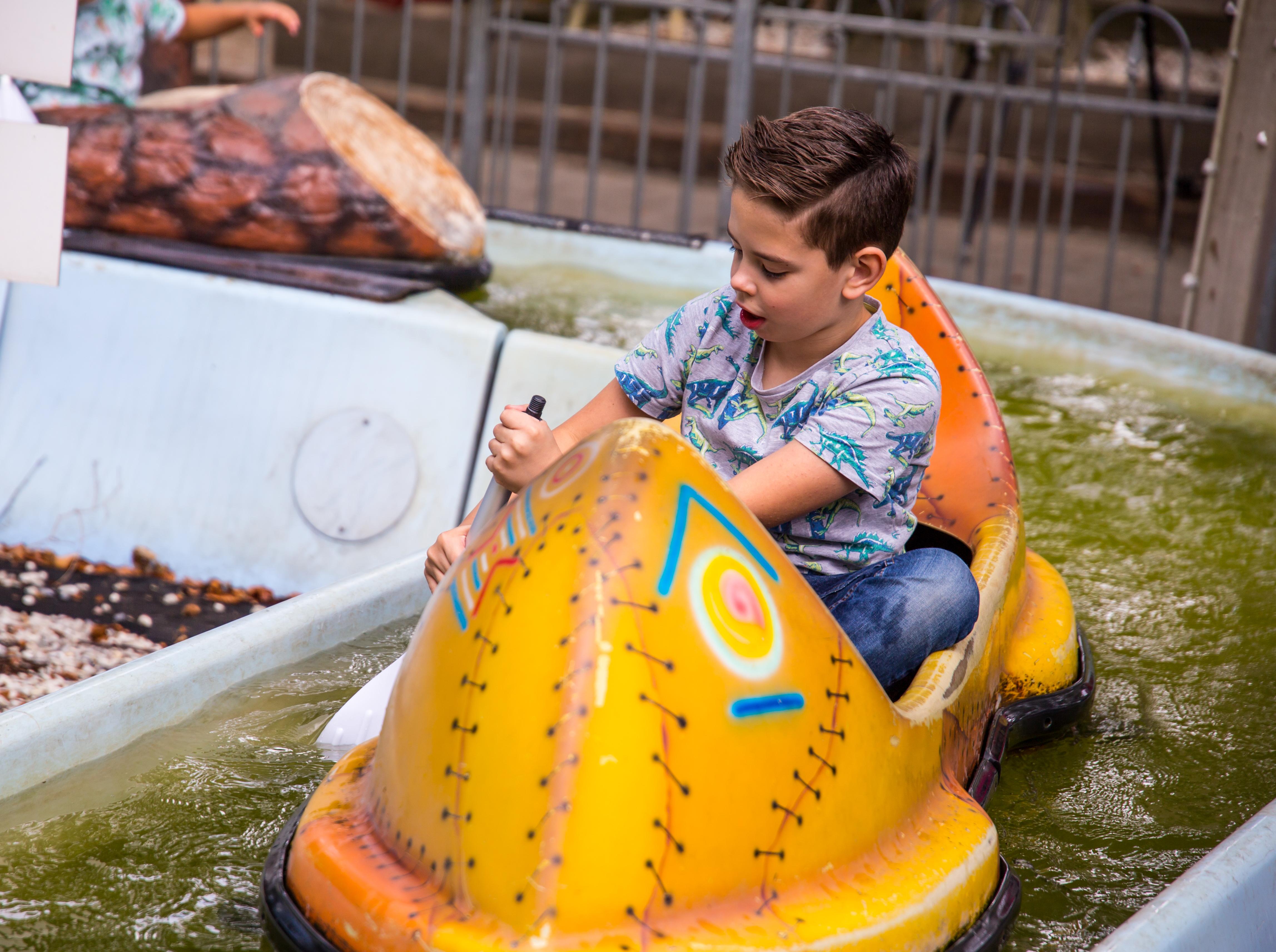 Kano varen Waarbeek
